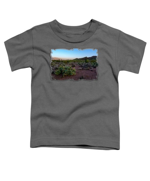 Desert Foothills H29 Toddler T-Shirt by Mark Myhaver