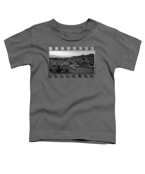 Desert Foothills H30 Toddler T-Shirt by Mark Myhaver