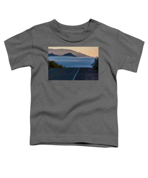 Desert Inversion Highway Toddler T-Shirt
