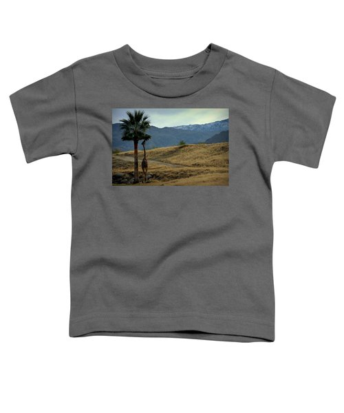 Desert Palm Giraffe 001 Toddler T-Shirt