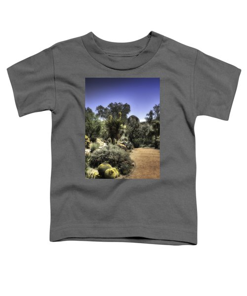 Desert Walkway Toddler T-Shirt by Lynn Geoffroy
