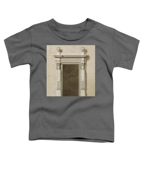 Design For Wall Decorations For The Salon De Compagnie Toddler T-Shirt