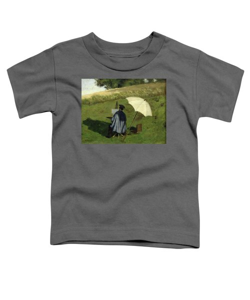 Desire Dubois Painting In The Open Air Toddler T-Shirt
