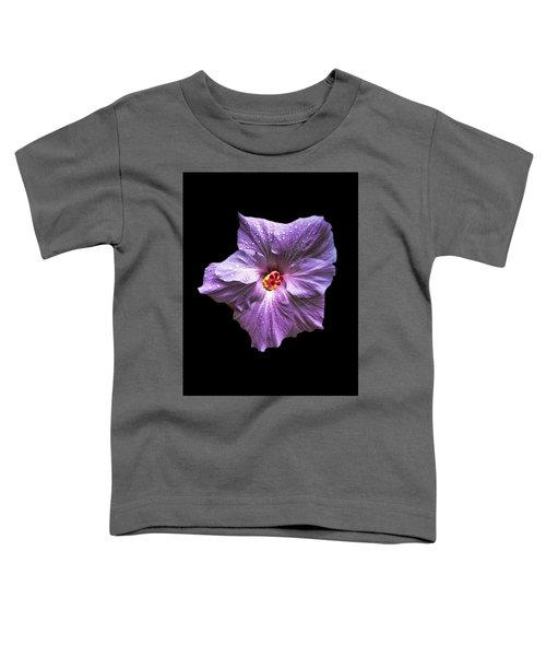 Dew Kissed Hibiscus Toddler T-Shirt