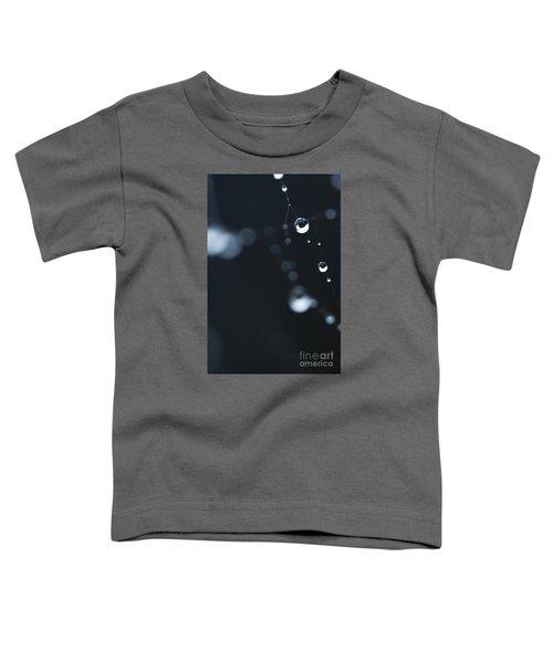 Dewdrops On Cobweb 004 Toddler T-Shirt