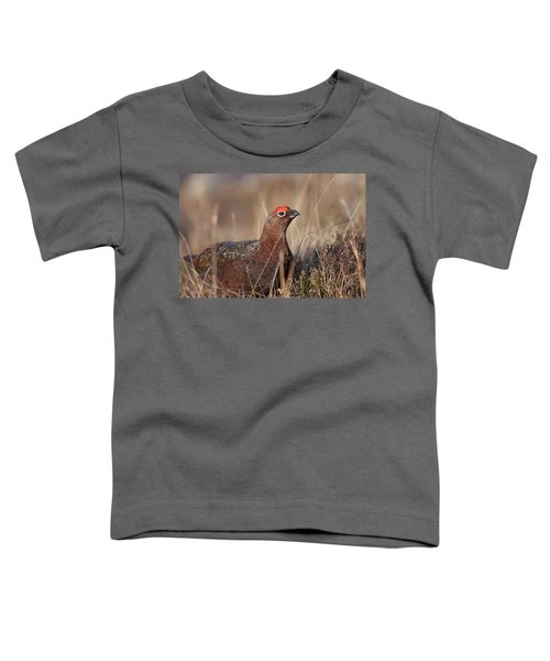 Did I Overdo It With The Eye Shadow? Toddler T-Shirt