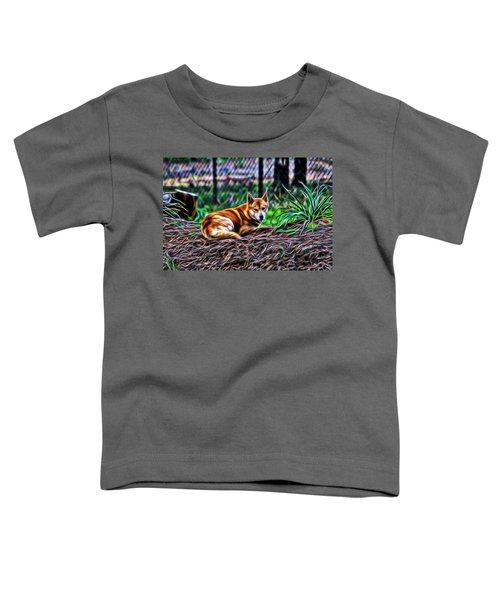 Dingo From Ozz Toddler T-Shirt by Miroslava Jurcik