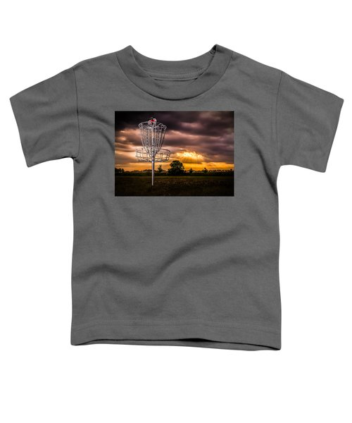 Disc Golf Anyone? Toddler T-Shirt
