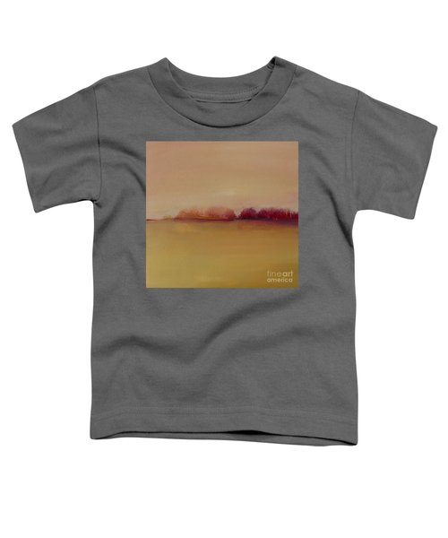 Distant Red Trees Toddler T-Shirt