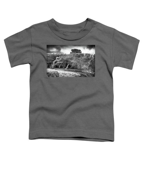 Distorted Trees Toddler T-Shirt