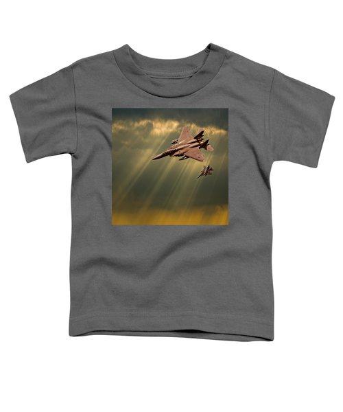 Diving Eagles Toddler T-Shirt