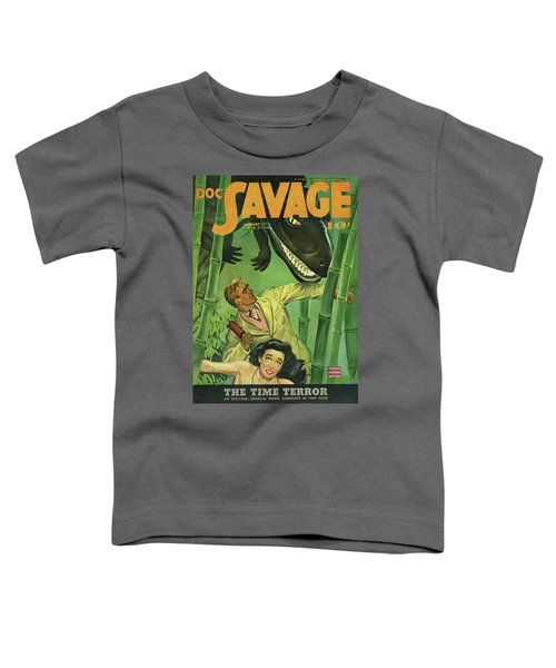 Doc Savage The Time Terror Toddler T-Shirt
