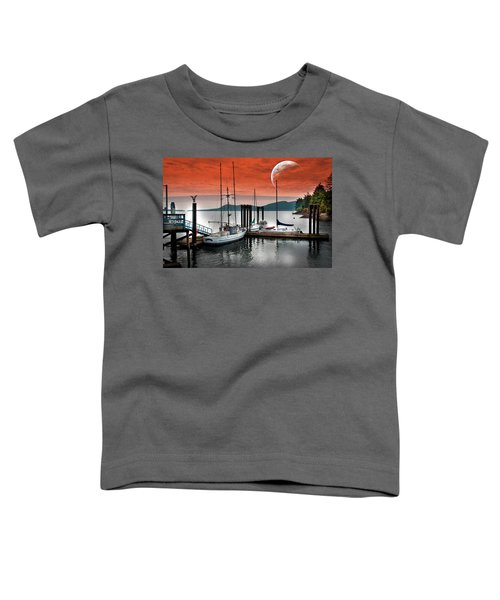Dock And The Moon Toddler T-Shirt