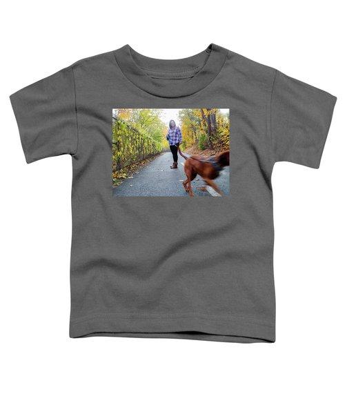 Dogwalking Toddler T-Shirt