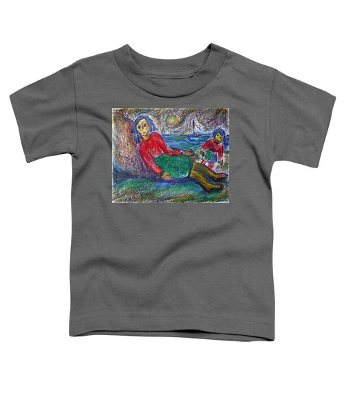 Dolls On The Beach Toddler T-Shirt