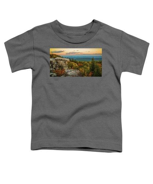 Dolly Sods Autumn Sundown Toddler T-Shirt