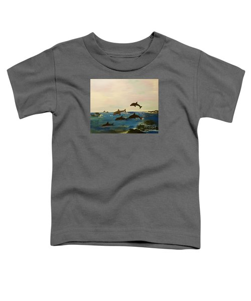 Dolphin Bay Toddler T-Shirt