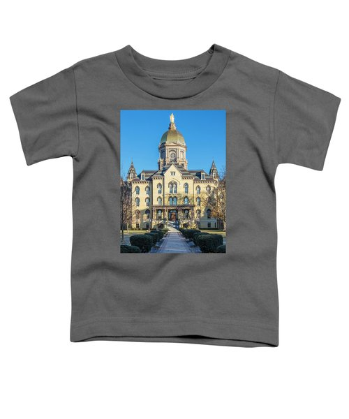 Dome At University Of Notre Dame  Toddler T-Shirt