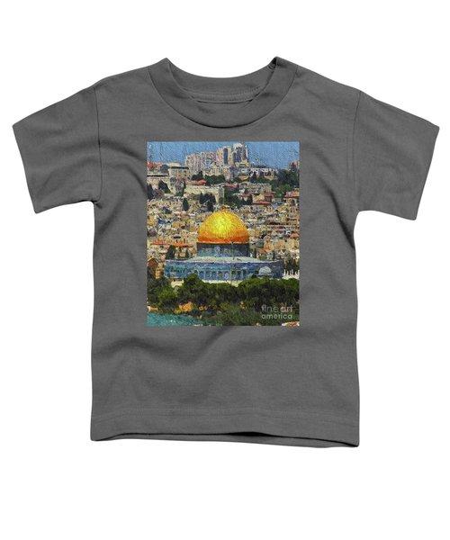 Dome Of The Rock, Jerusalem, Israel Toddler T-Shirt