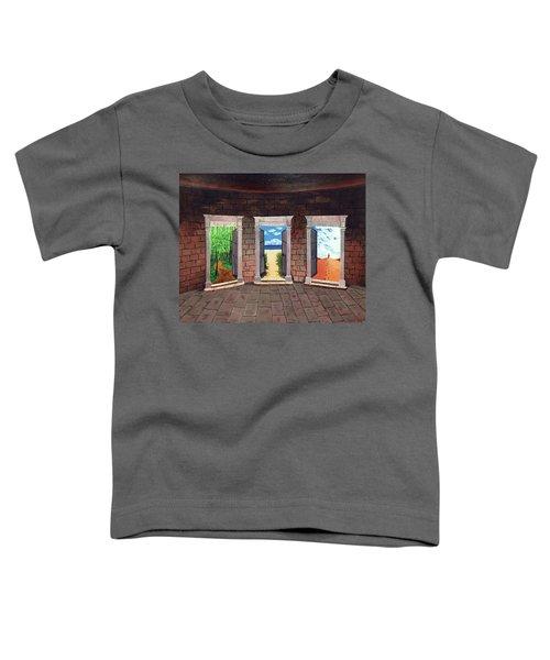 Door Number Three Toddler T-Shirt
