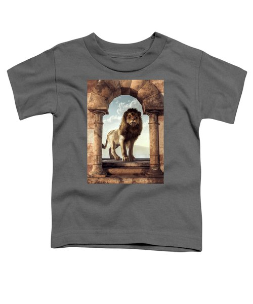 Door To The Lion's Kingdom Toddler T-Shirt