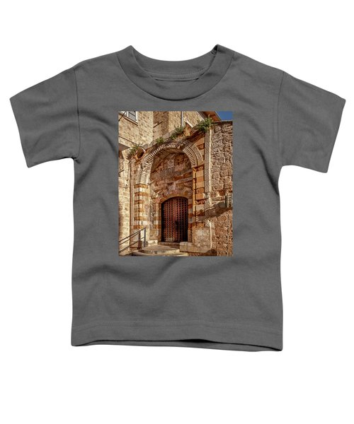 Doorway In Akko Toddler T-Shirt