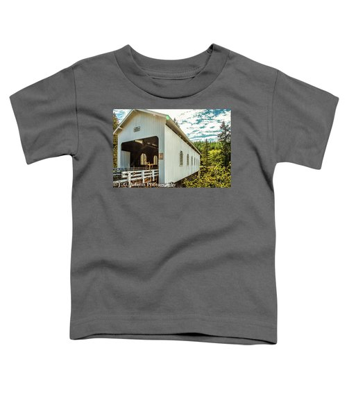 Dorena Covered Bridge Toddler T-Shirt