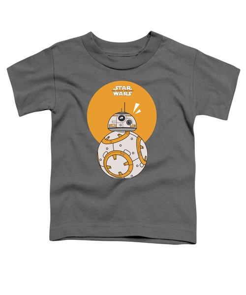 Dotted Starwars Toddler T-Shirt by Mentari Surya