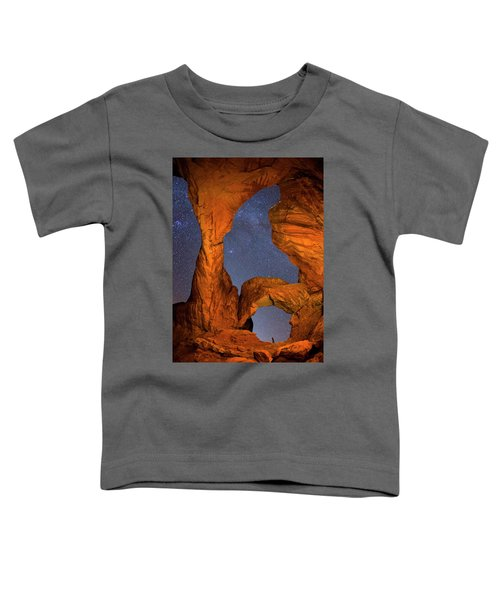 Double Arch At Night Toddler T-Shirt