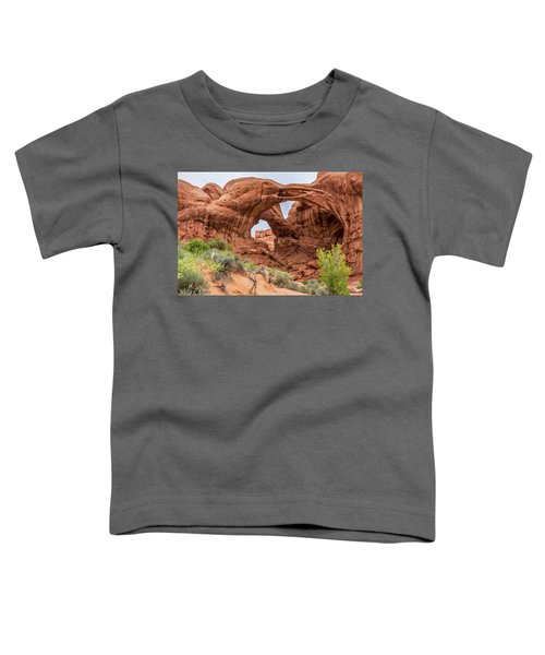 Double Arches, Arches National Park Toddler T-Shirt