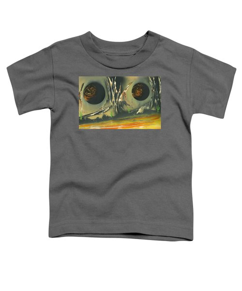 Double Moon Desert Toddler T-Shirt