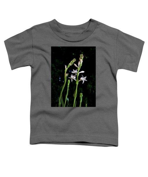 Double Tuberose In Bloom Toddler T-Shirt
