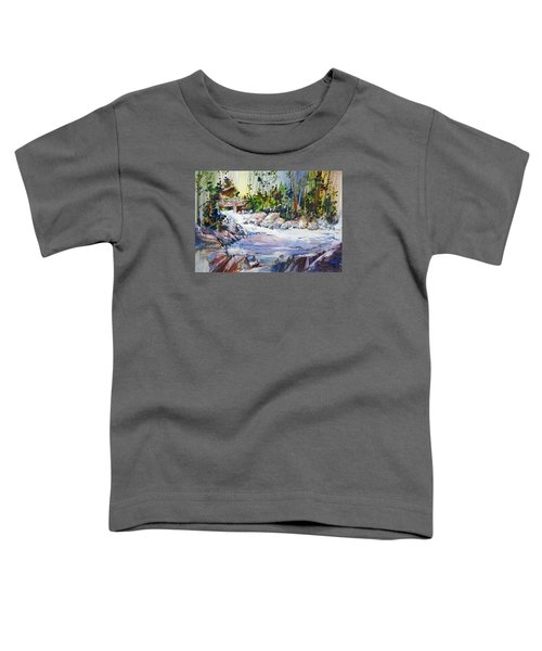 Down Stream On Hoppers Creek Toddler T-Shirt