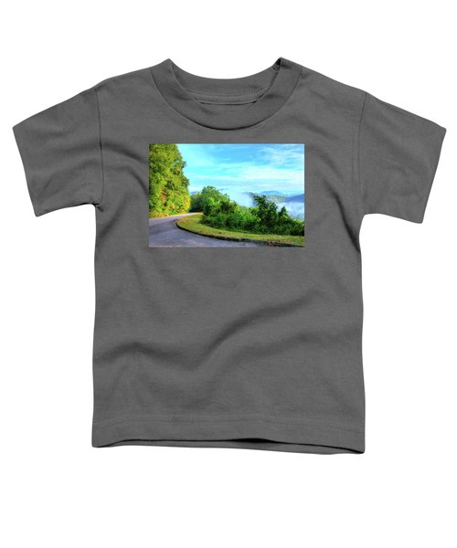 Down The Mountain Toddler T-Shirt