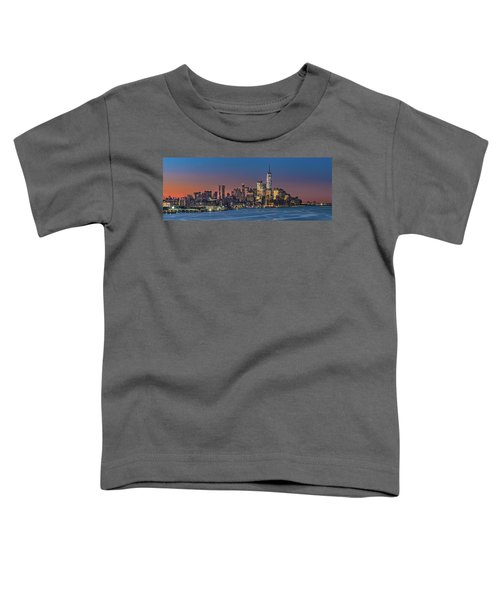 Downtown And Freedom Tower Toddler T-Shirt