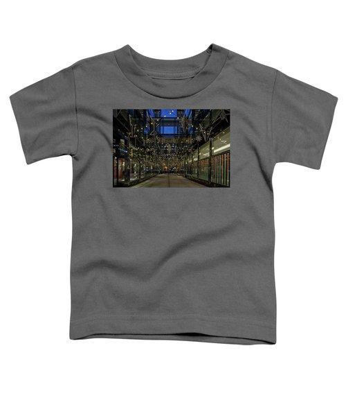 Downtown Christmas Decorations - Washington Toddler T-Shirt