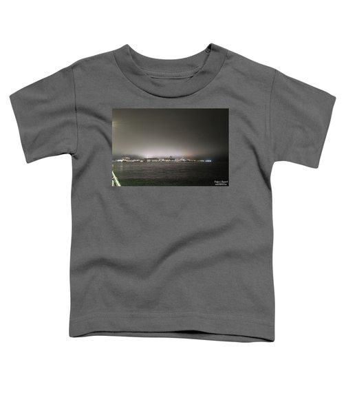 Downtown Oc Skyline Toddler T-Shirt