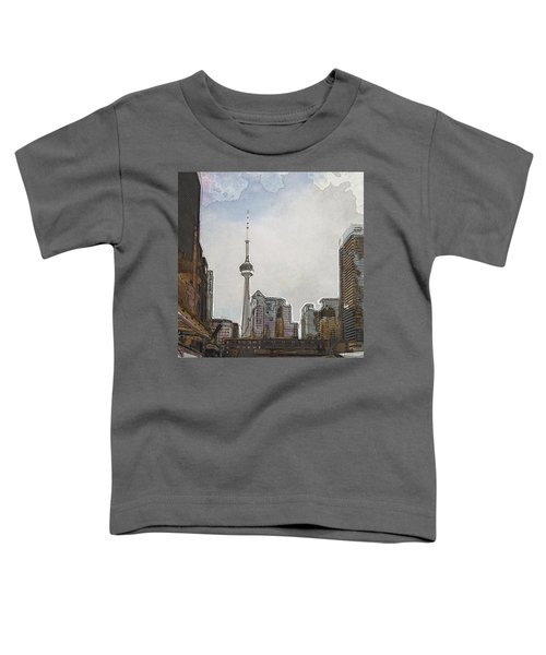 Downtown Toronto In Color Toddler T-Shirt