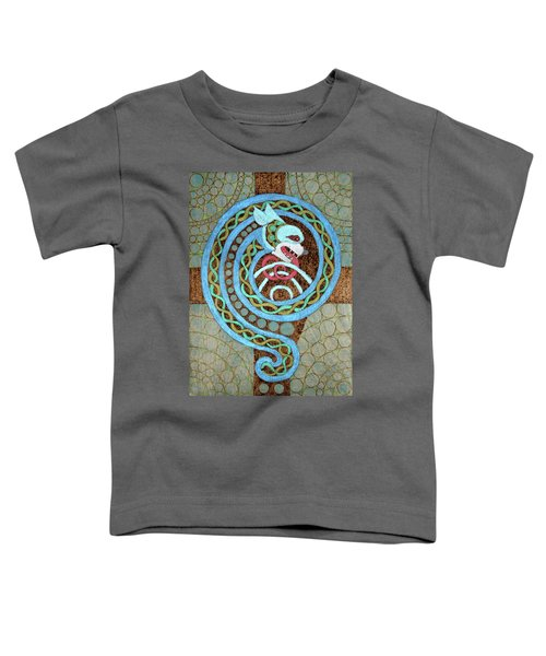 Dragon And The Circles Toddler T-Shirt