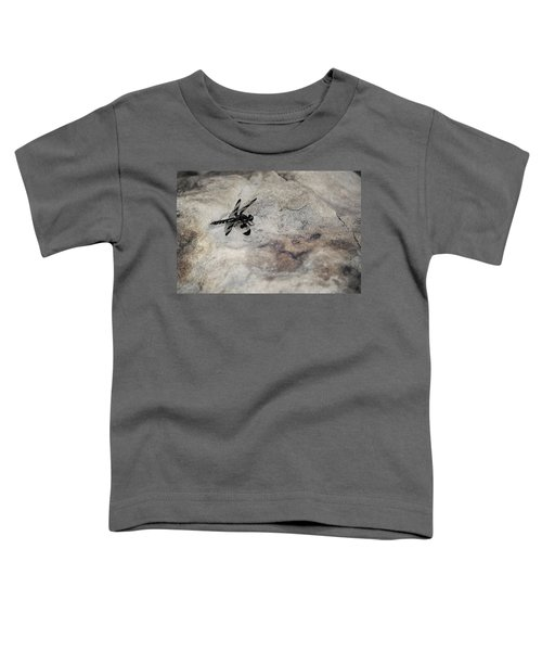 Dragonfly On Solid Ground Toddler T-Shirt