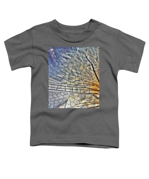Dragonfly Wing Toddler T-Shirt