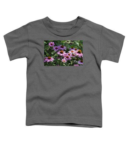 Dramatic Coneflowers Toddler T-Shirt
