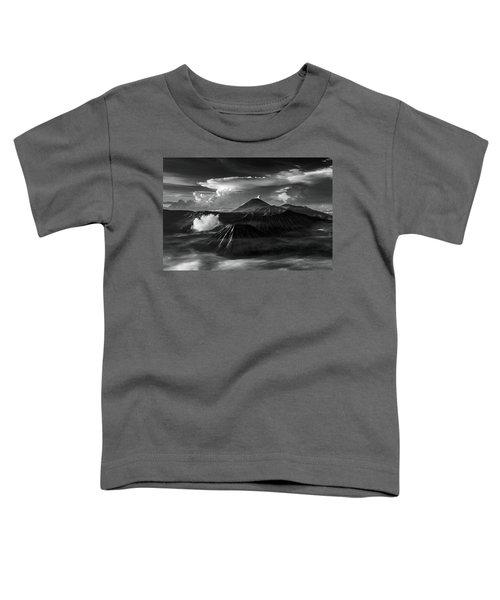 Dramatic View Of Mount Bromo Toddler T-Shirt
