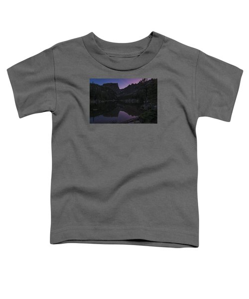 Toddler T-Shirt featuring the photograph Dream Lake Reflections by Gary Lengyel