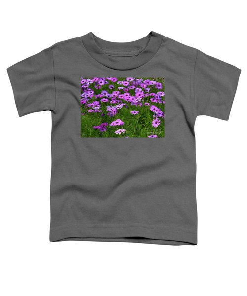 Dreaming Of Purple Daisies  Toddler T-Shirt
