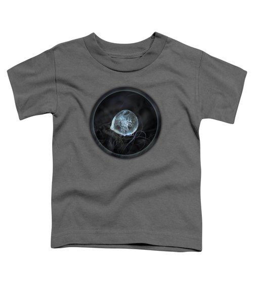 Drop Of Ice Rain Toddler T-Shirt