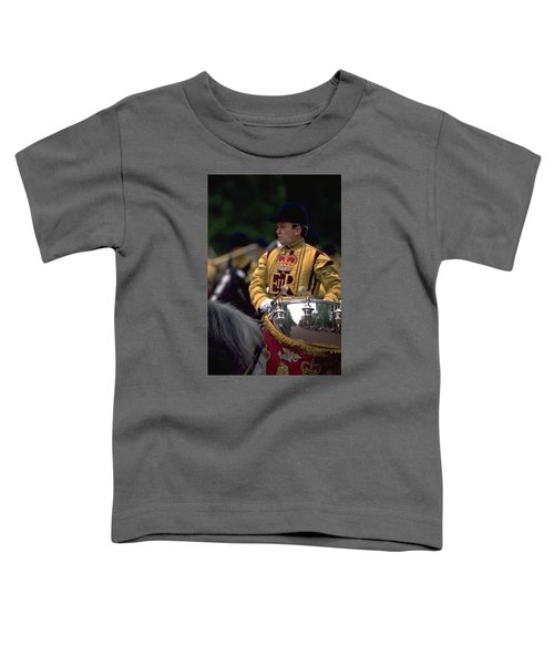 Toddler T-Shirt featuring the photograph Drum Horse At Trooping The Colour by Travel Pics