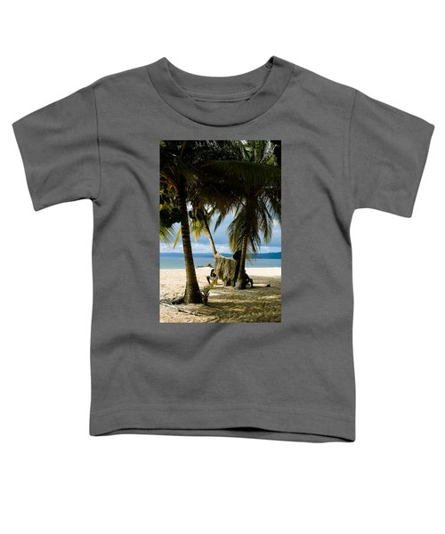 Drying The Nets Toddler T-Shirt
