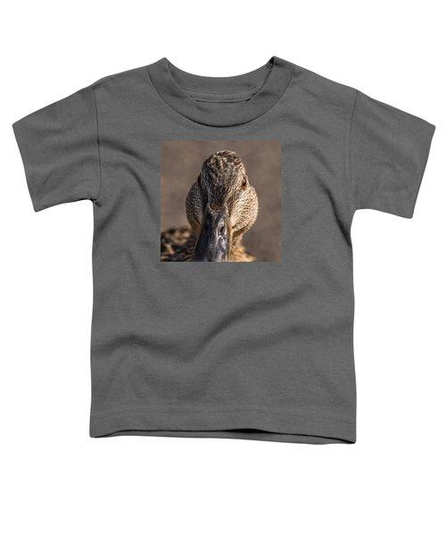 Duck Headshot Toddler T-Shirt