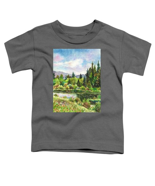 Duck Pond At Caribou Ranch Toddler T-Shirt